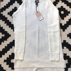 High/Low Wool & Cashmere Tunic Sweater - NWT!